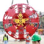 Lắp khiên đào, hoàn thiện robot đào hầm đường metro Nhổn – ga Hà Nội
