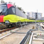 Đoàn tàu đầu tiên của tuyến đường sắt đô thị số 3, đoạn Nhổn – Ga Hà Nội chính thức lăn bánh, bước vào giai đoạn thử nghiệm liên động